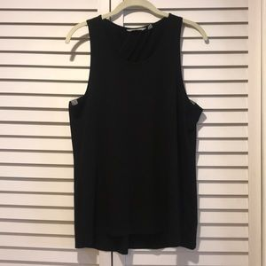 Black tank top from Athleta